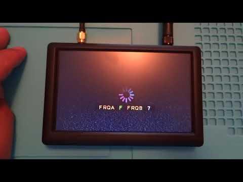 Hawkeye Little Flyer Ⅲ 5.8G 48CH 800*480 5 Inch FPV Monitor