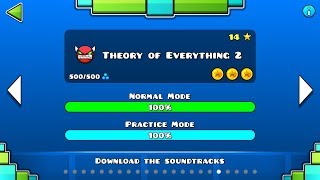 "Geometry Dash - ""Theory of Everything II"" 100% Complete - GuitarHeroStyles"