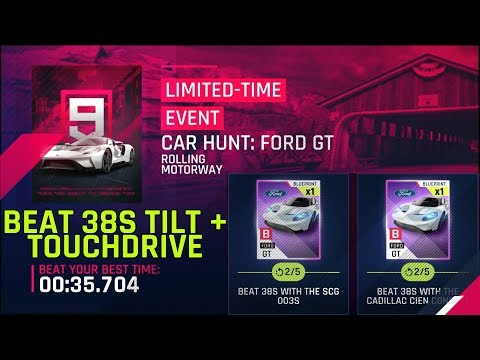 Beat 38s with SCG 003S & Cadillac Cien Tilt & Touchdrive – Ford GT Car Hunt