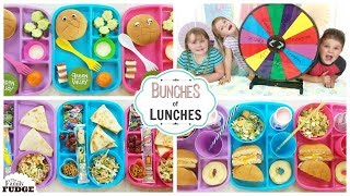 MYSTERY Lunches 😱 Bunches of Lunches SUMMER