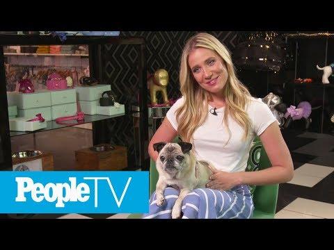 Kristine Leahy Of 'American Ninja Warrior' On Her Best Fuzzy Friend Jersey | Puparazzi | PeopleTV