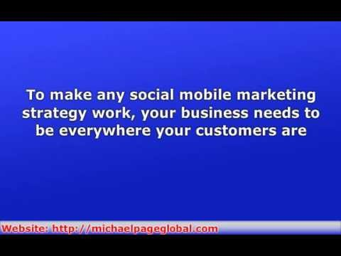 MOBILE MARKETING PT 5 USING SOCIAL SITES TO REACH SMARTPHONE USERS