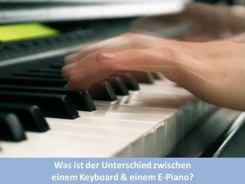 Was ist der Unterschied zwischen einem Keyboard & einem E-Piano? | Keyboard Ratgeber | keyboard1.de