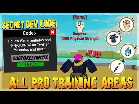 ALL NEW PRO TRAINING AREAS *OWNER SPECIAL FREE CODES!* IN ANIME FIGHTING SIMULATOR ROBLOX