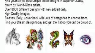 Small Fairy Tattoo Images