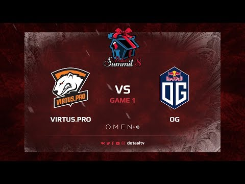 Virtus.pro против OG, Первая карта, Групповой Этап Dota Summit 8