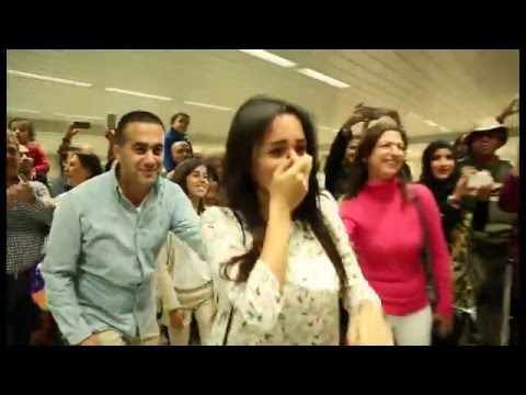 Bruno Mars Marry You Flash Mob Proposal Jacob and Eliane - Beirut Rafic Hariri International Airport