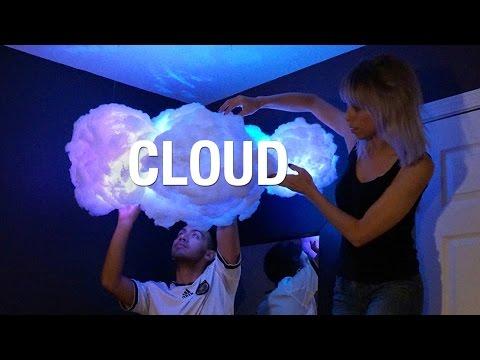 DIY Wolkenlampe - Täuschend echte atmosphärische Beleuchtung