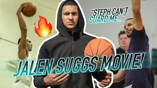 Jalen Suggs Is Going To The LEAGUE!! Crazy Look Inside His High School Grind & Meeting STEPH 🔥