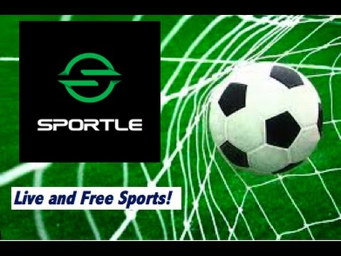 HOW TO GET LIVE AND FREE SPORTS! SPORTLE! App Review #2