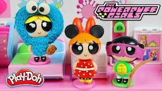 DIY Powerpuff Girls Play Doh Halloween Costumes!