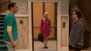 The big bang theory S12 E23 Sheldon Sad over Changes, Even Elevator get fixed !