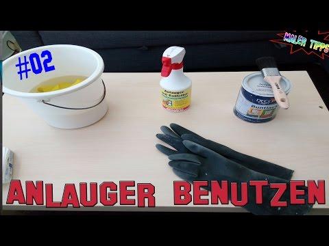 Willkommen Bei denn Maler Tipps Heute: wie Benutzt man Anlauger