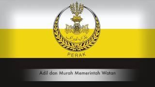Lagu Negeri Perak Allah Lanjutkan Usia Sultan