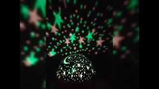 Velador Proyector De Estrellas Giratorio!