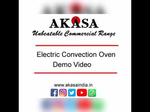 Akasa Indian Electric Convection Baking Oven 65 Ltr. with 2 Shelves