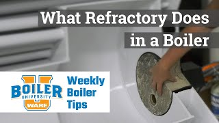 What Refractory Does in a Boiler - Weekly Boiler Tips