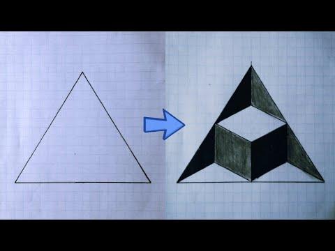 Fantastic 3D illusion | How to draw a 3d art | 3d illusion | Trick art
