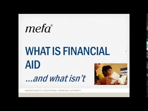 What is Financial Aid and What Isn't?