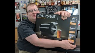The Krups SUB Home Draft Beer System Review!
