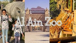 A visit to Al Ain Zoo/Tourist place in UAE/Al Ain Wildlife Park and Resort