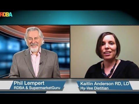 Phil Lempert Interviews Kaitlin Anderson