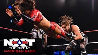 Rhea Ripley vs. Aliyah & Robert Stone – Handicap Match: NXT Great American Bash, July 1, 2020