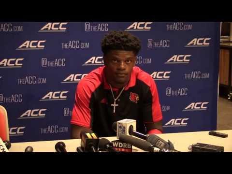 Lamar Jackson Clemson Post-Game 10-1-2016