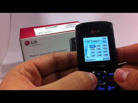 LG GS155. Demostracion a cargo de Andotel.com