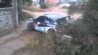preview picture of video 'Rally Nacional Catamarca 2011 CHOQUE DE BALDONI'