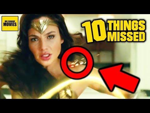 Ten Details Missed In Wonder Woman 1984 (Official Trailer Breakdown)