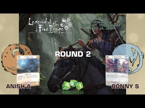 Legend of the Five Rings – Round 2 | Stronghold Conflict Season 1 Event 1