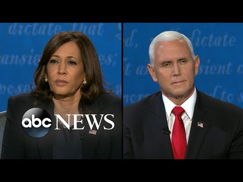 Harris and Pence address US economy, jobs l Vice Presidential Debate 2020
