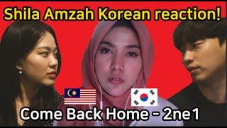 [Malaysia]  Come Back Home 2ne1 cover by Shila Amzah / Reaction by Korean