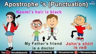 Apostrophe 'S (Punctuction)   1 ~ Grammar Class