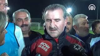 Dışişleri Bakanı Çavuşoğlu ve Spor Bakanı Bak maç yaptı