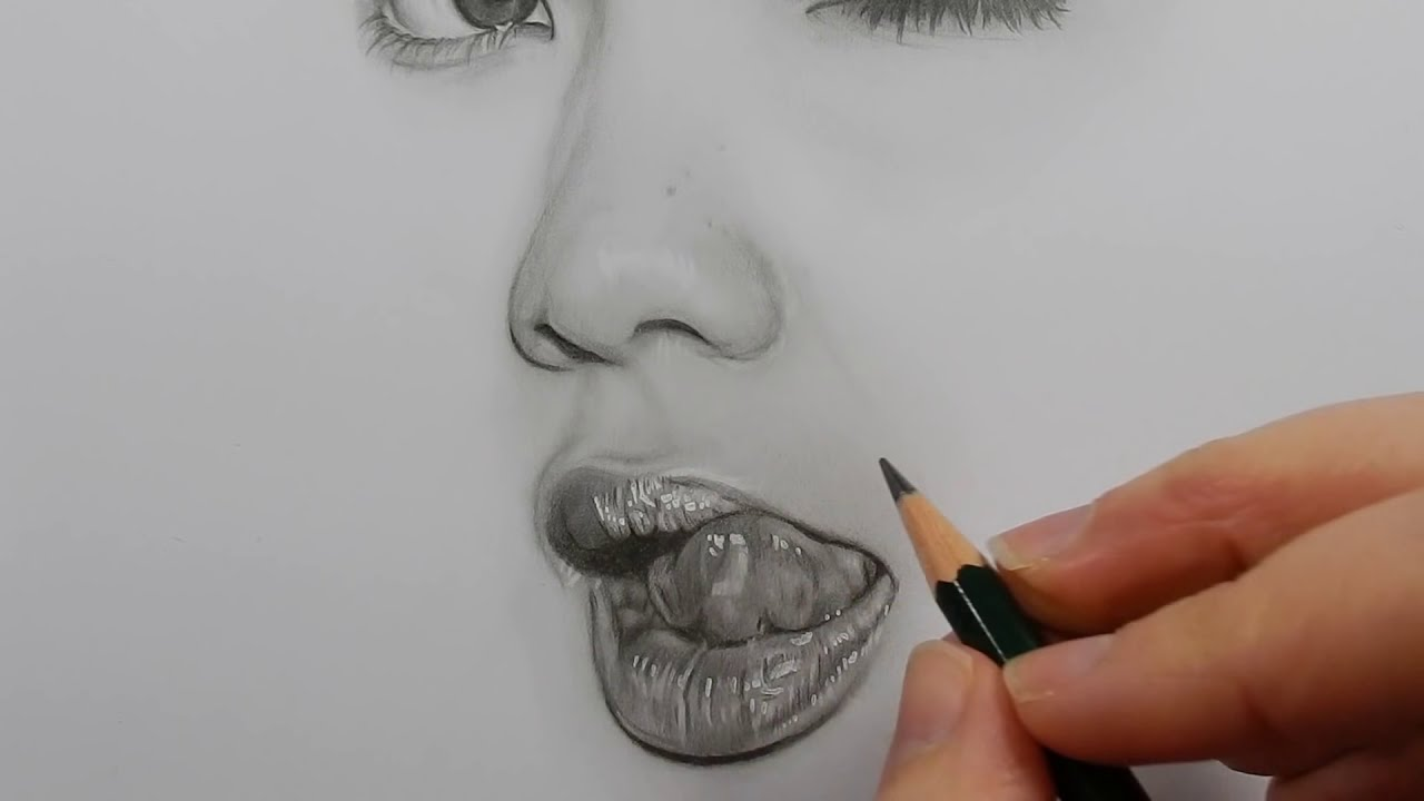 pencil drawing shading and blending by emmy kalia