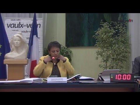 Conseil Municipal de Vaulx-en-Velin du 4 février 2016