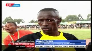 Olympics trials end today in Eldoret the Home of champions