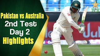 Pakistan Vs Australia | Highlights | 2nd Test Day 2 | PCB