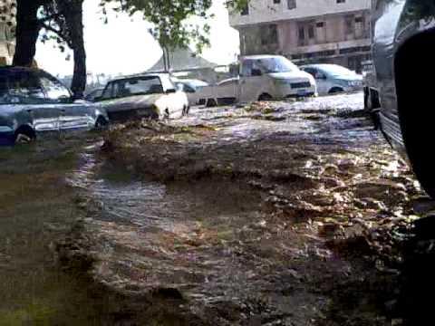 سيول وامطار جدة ( الشارع الجديد
