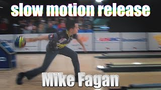 Mike Fagan slow motion release - PBA Bowling