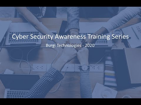 Cyber Security Awareness Training For Employees (FULL Version ...