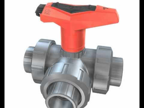 Kugelhahn Typ 543 - GF Piping Systems - Deutsch