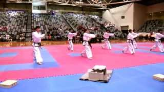North Korea DPRK Taekwon-do ITF Demo. Melbourne. Australia