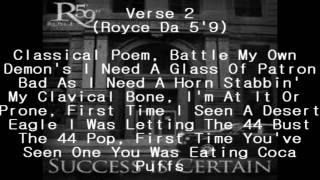 Eminem & Royce Da 5'9 - Echo (Lyrics)