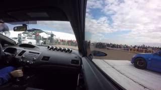 Honda Civic 4D Turbo 700hp | Drag Racing PRO FWD 14.08.2016