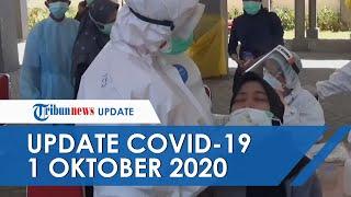UPDATE Covid-19 di Indonesia Hari Ini 1 Oktober: Tambah 4.174 dalam Sehari, 3.540 Pasien Sembuh