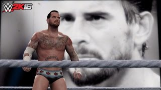 WWE 2K16 PC Mod: CM Punk is back in WWE Games! (Titantron & Model)