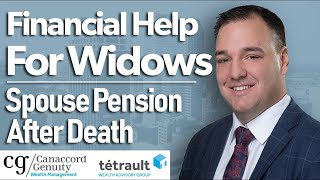 Financial Help For Widows | Spouse Pension After Death